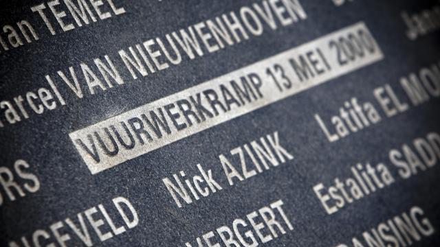 13 mei 2000 - Vuurwerkramp Enschede